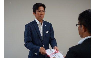 チャリティゴルフで集められた約50万円を寄付 eyecatch-image