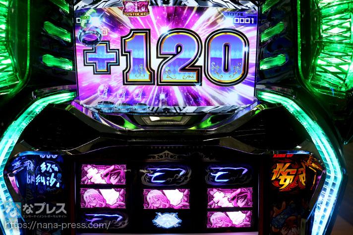 ノーゲーム・ノーライフTHESLOT +120