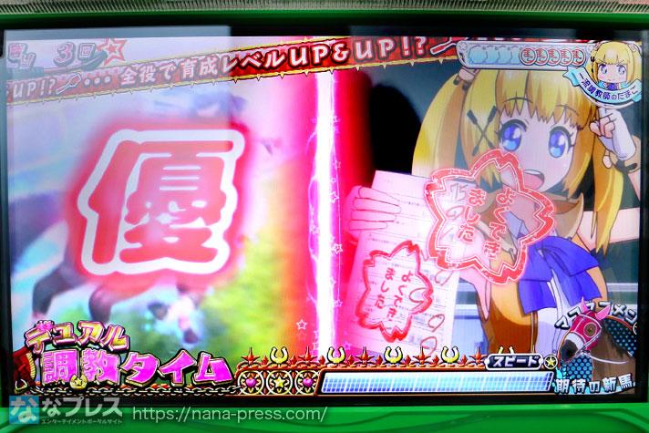 G1優駿俱楽部3 全役で育成レベルUP&UP!?