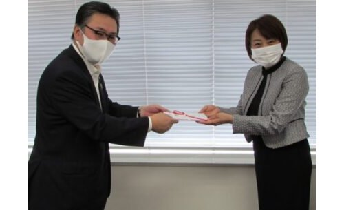 回胴遊商、アクロスジャパンに寄付金を贈呈 eyecatch-image