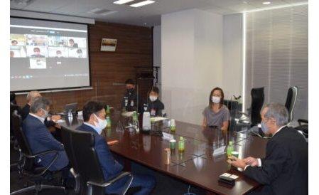 東京パラリンピック出場のパラ・アスリートらが日電協を表敬訪問 eyecatch-image