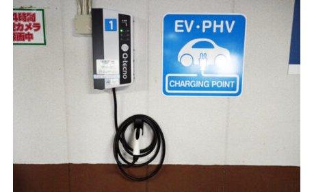 玉屋本店に電気自動車の充電器を設置 eyecatch-image