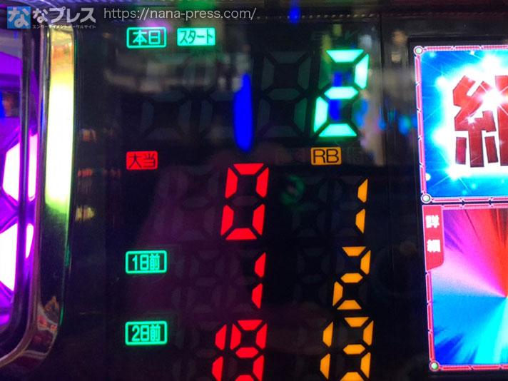 アイムジャグラーEX-AE データランプ