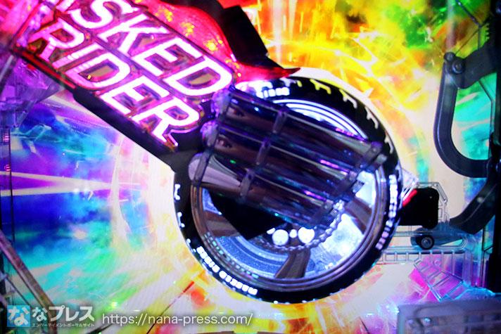 仮面ライダー轟音 バイクギミック