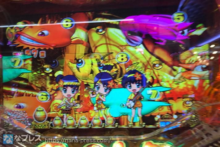 Pスーパー海物語 IN JAPAN2 金富士 199バージョン いつものSTゾーン