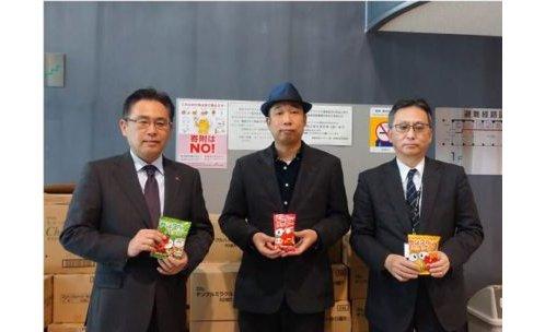 安田屋、保育園などに食品12,000点を寄付 eyecatch-image