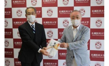 太陽グループが札幌医科大学に医療用品を寄贈 eyecatch-image