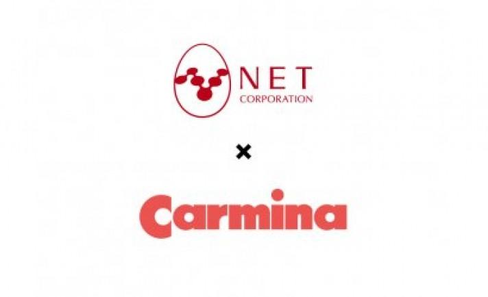ネット、新ブランド「カルミナ」を発表