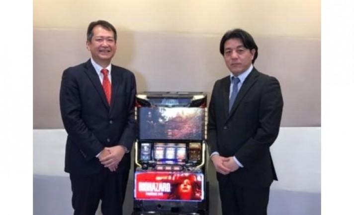 ユニバ×カプコン業務提携第1弾『パチスロ バイオハザード7』発表