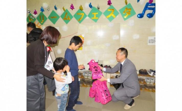 アサヒディードが「慶徳会 子供の家」にクリスマスプレゼント