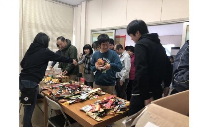遊都が愛知県内の福祉施設にお菓子を寄贈