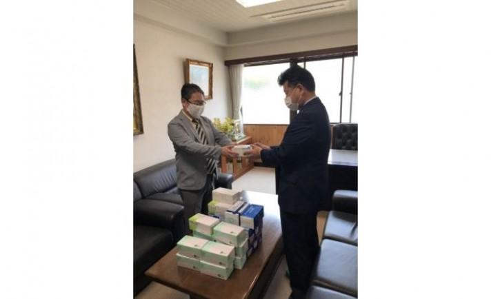 静岡のアシベ商事、県内3市の医療機関へマスクを寄贈