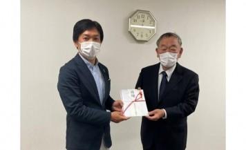 キング観光が桑名市総合医療センターに1,000万円を寄付