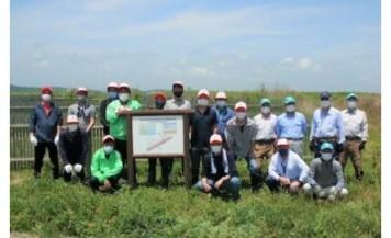 日遊協が、宮城県東松島市で植栽ボランティア活動を実施